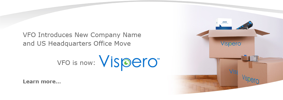 VFO Introduces New Company Name and US Headquarters Office Move. VFO is now Vispero. Learn more.
