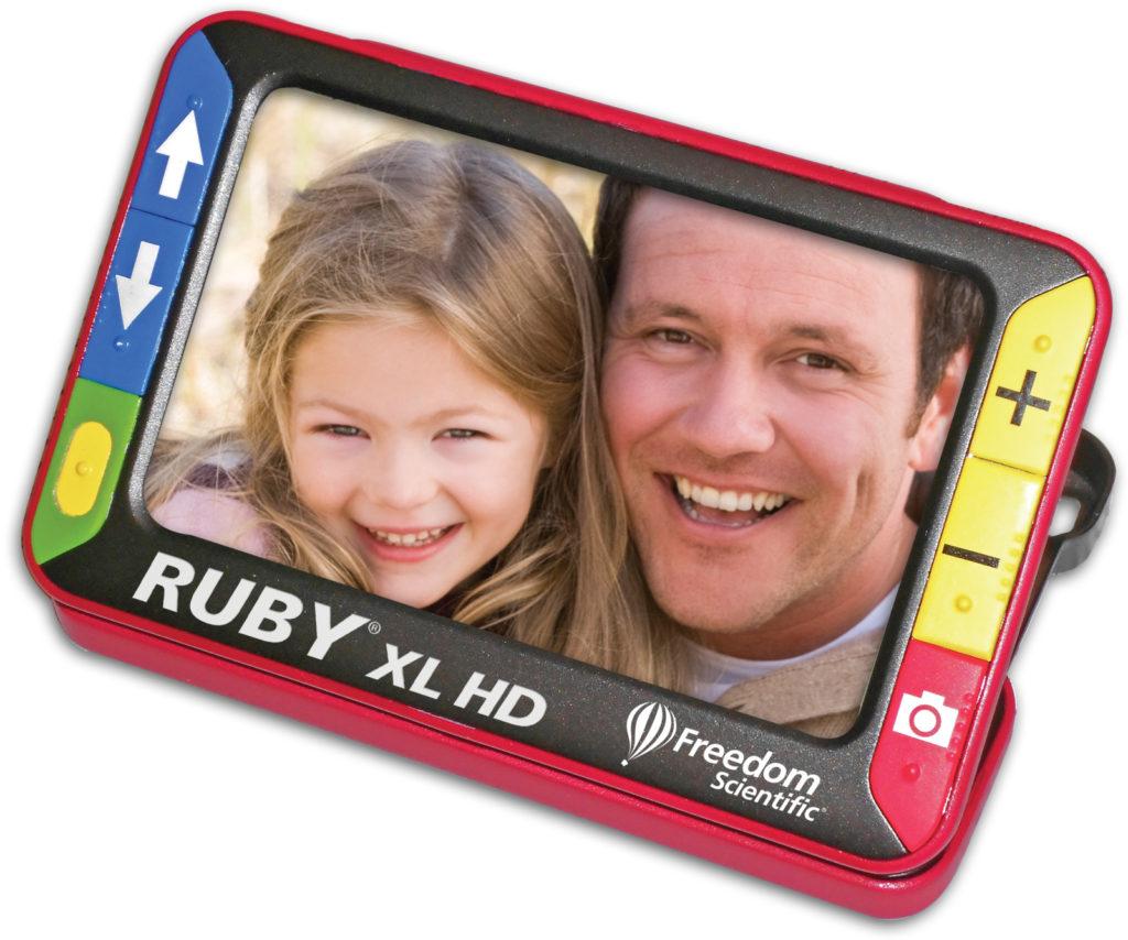Ruby XL HD magnifier