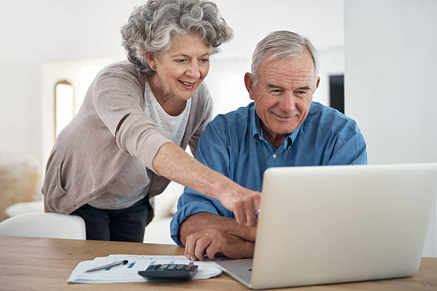 two people using JAWS on their laptop