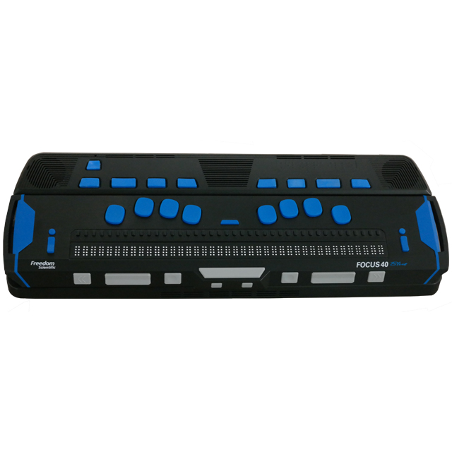 ElBraille 5th Generation with Focus 40-cell Braille display