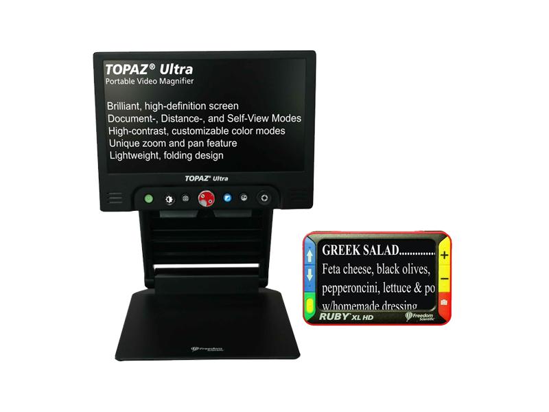 TOPAZ Ultra and RUBY XL HD