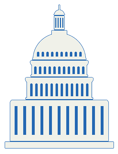 icon of capitol building